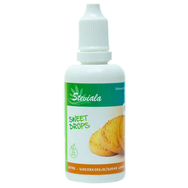 Stevia druppels boterkoek
