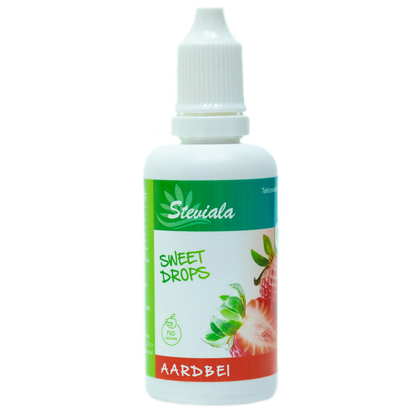 Stevia druppels aardbei
