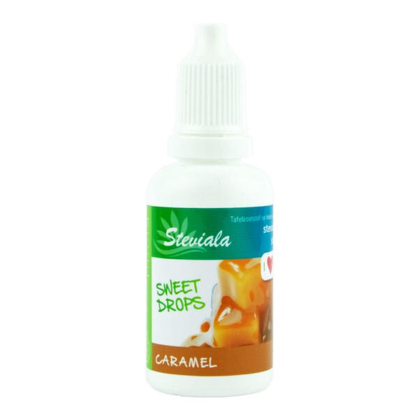 Stevia druppels caramel