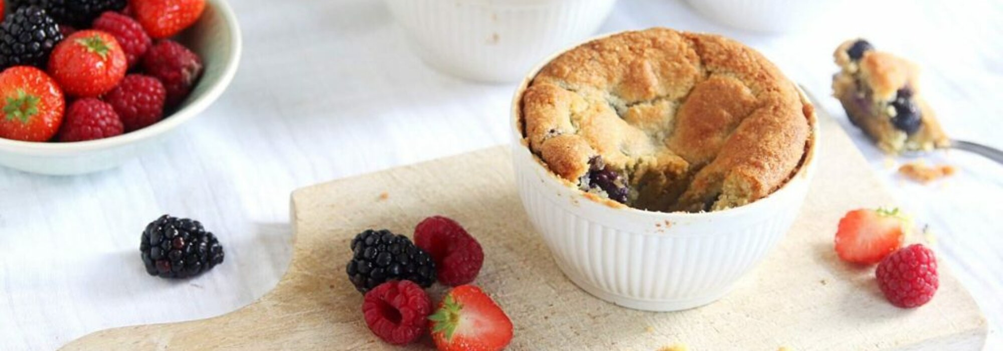 Koolhydraatarme bosbessen muffins