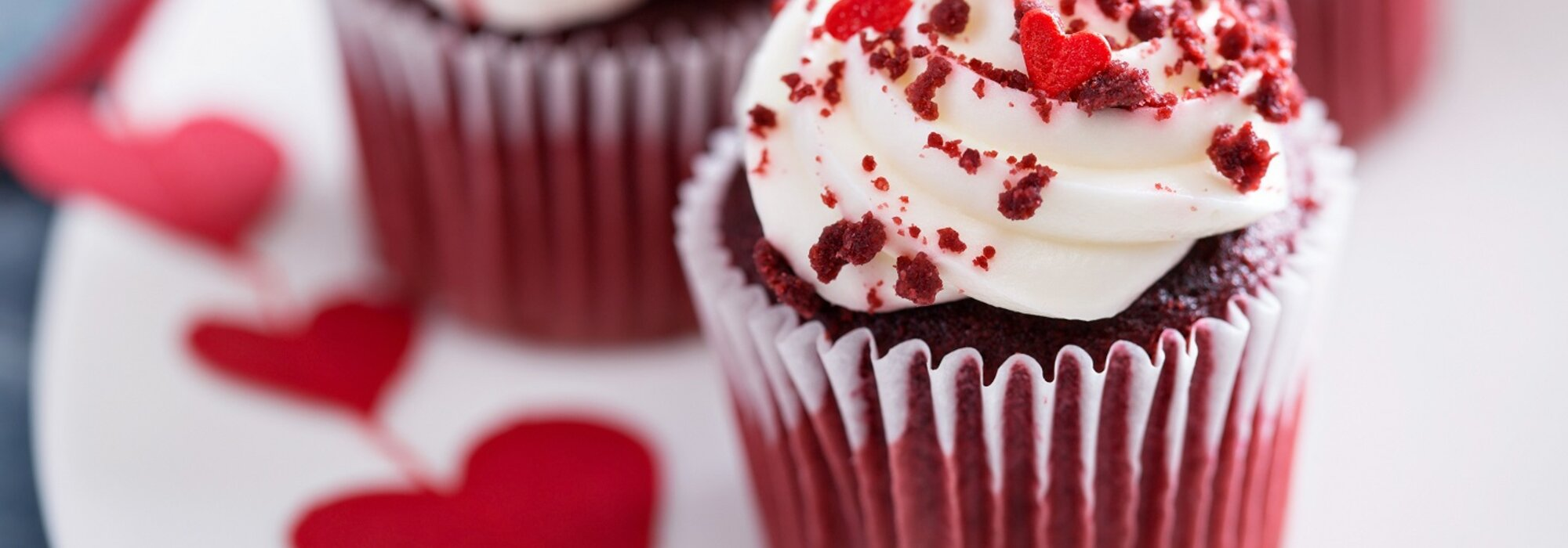 Koolhydraatarme Red Velvet cupcakes