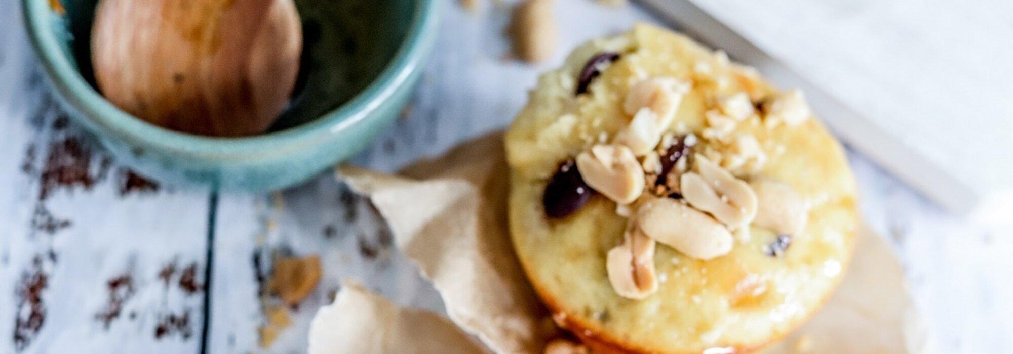 Koolhydraatarme Snicker muffins