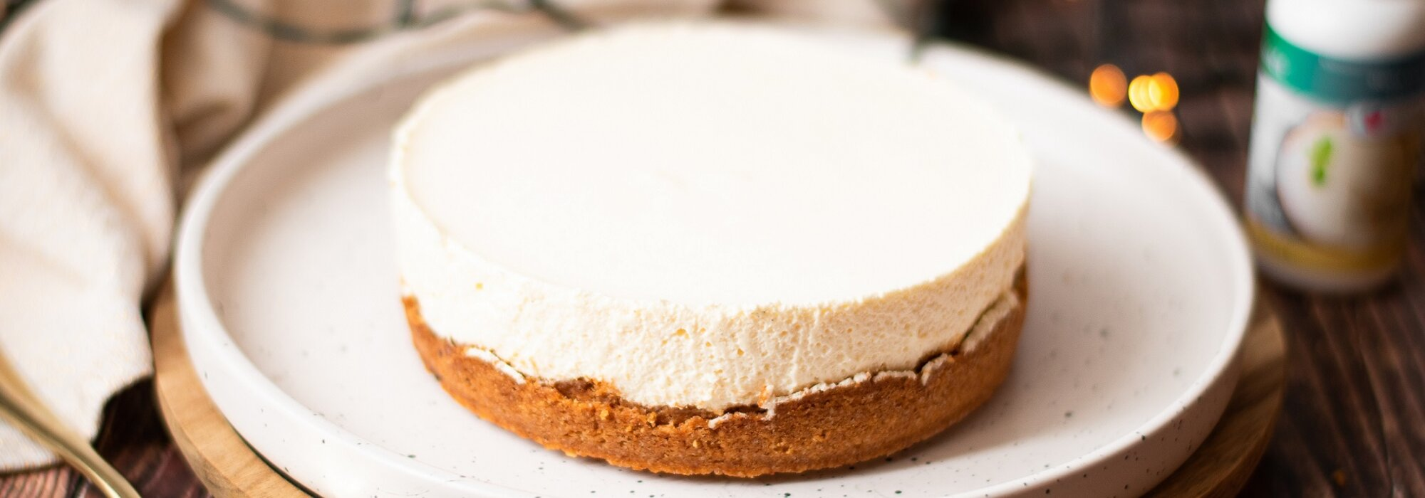 Koolhydraatarme New York cheesecake