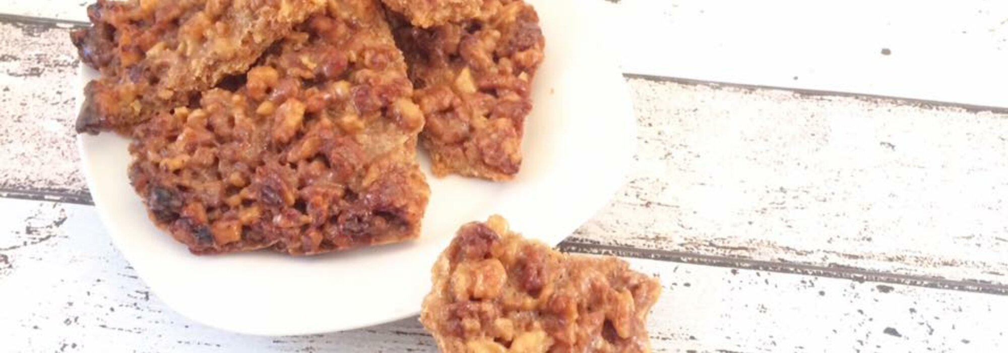 Koolhydraatarme en suikervrije caramel honing koeken