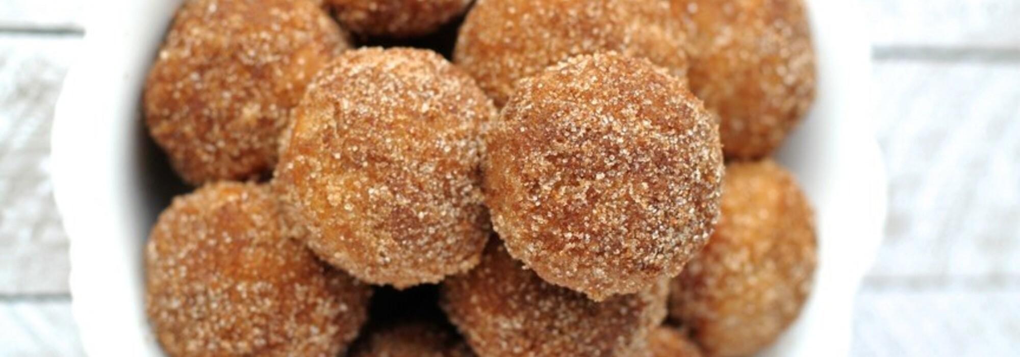 Suikervrije en koolhydraatarme Cookie Dough balletjes