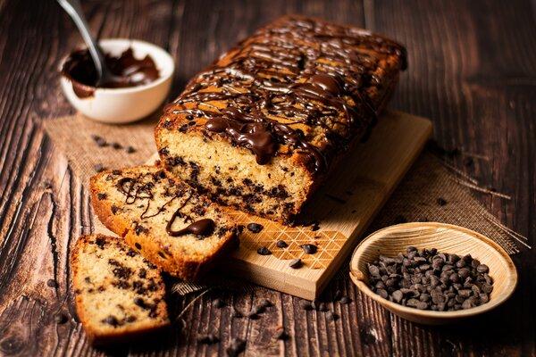 Glutenvrije en koolhydraatarme stracciatella cake