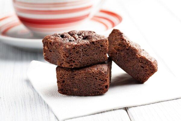 Koolhydraatarme suikervrije brownies