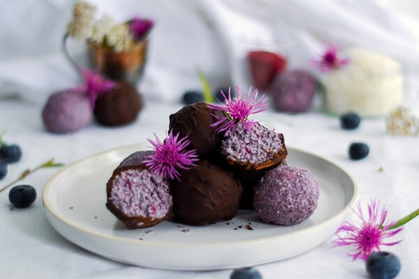 Vegan en suikervrije kokosballetjes