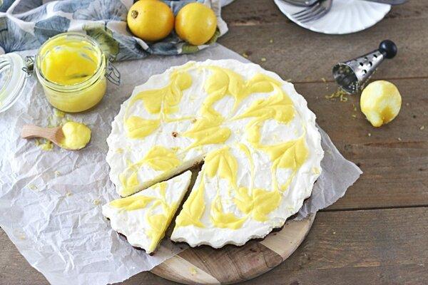 Koolhydraatarme citroen MonChou taart