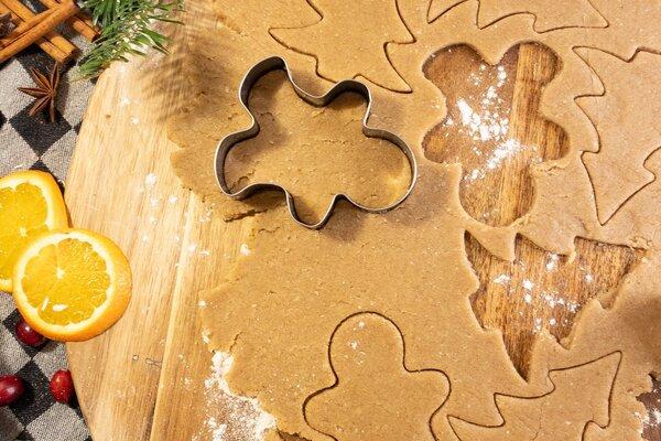 Suikervrije zandkoekjes Shortbread speculaas caramel