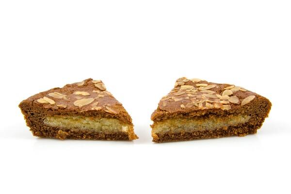Suikervrije gevulde speculaas taart