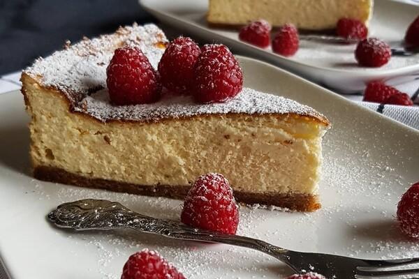 Koolhydraatarme en suikervrije cheesecake