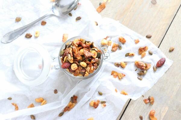 Koolhydraatarme en suikervrije granola