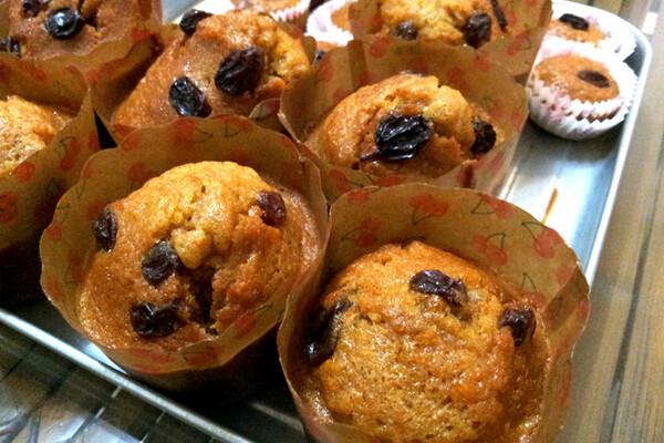 Suikervrije appeltaart muffins