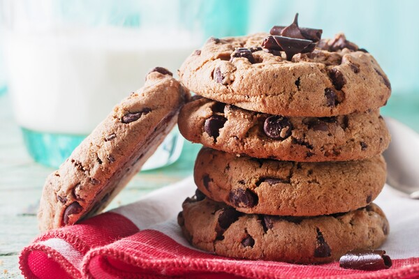 Suikervrije chocolade chips koekjes